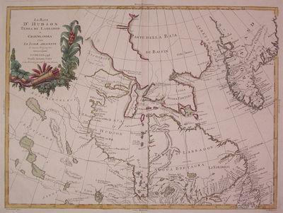 Venice: Antonio Zatta, 1778. unbound. very good. Map. Engraving with original hand coloring. Image m...