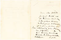 Fine Content Rodin ALS on the Stationery of an English Socialite and Client to