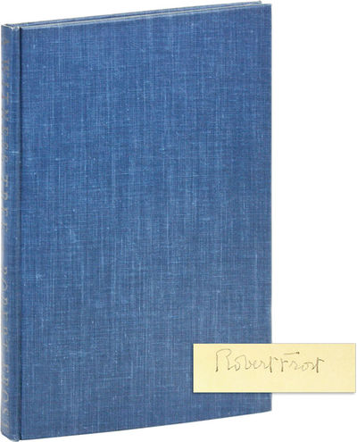 New York: Henry Holt and Company, 1944. Reprint. Octavo; blue-green cloth, with titles stamped in gi...