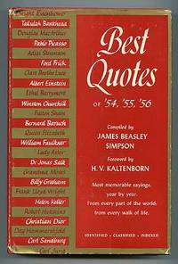 New York: Thomas Y. Crowell, 1957. Hardcover. Fine/Very Good. First edition. Fine in very good dustw...