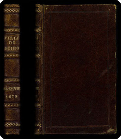 Amsterdam: nella stamperia del D. Elsevier; et in Parigi si vende apresso Thomaso Jolly, 1678. 24mo ...