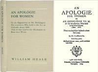 An Apologie for Women. Or an Opposition to Mr. Dr.G[ager] His..