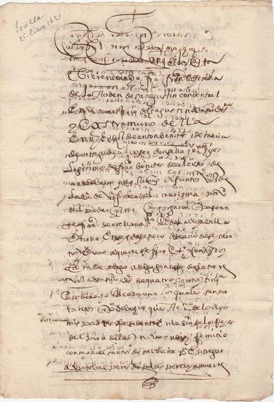 [Manuscript Document] An Uncle sends...