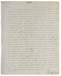 Autograph Letter, signed, from Thomas Jefferson to Secretary of War Henry Dearborn