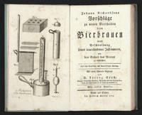 Johann Richardsons Vorschläge zu neuen Vortheilen beym Bierbrauen.  Nebst Beschreibung...