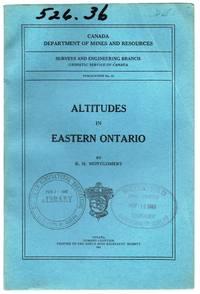 Altitudes in Eastern Ontario