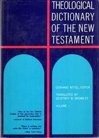 Theological Dictionary of the New Testament (ten volumes complete) by  Gerhard  Gerhard & Friedrich - Hardcover - 1978 - from Pendleburys - the bookshop in the hills and Biblio.com