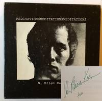 MeditationsMeditationsMeditations: Selected Poems 1964-1973 (The Signed, Boxed Edition with Cassette)
