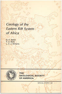 Geology of the Eastern Rift System of Africa (The Geological Society of America, Special Paper 136)