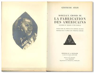 MORCEAUX CHOISIS DE LA FABRICATION...