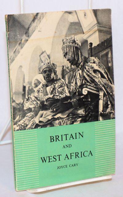 London: Longmans, Green & Co, 1947. Paperback. 79p., 4.75x7.25 inches, appendix, photographs in grav...