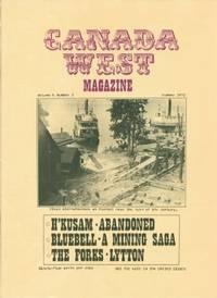Canada West Magazine, Volume 4, Number 2, Summer 1972