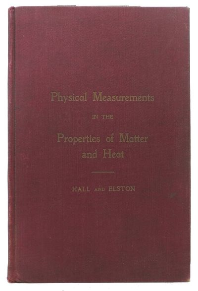Berkeley, 1908. 1st edition. Maroon cloth with gilt lettering. Abt VG (gilt dull/cloth has some soil...