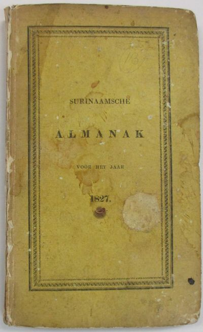Amsterdam, 1826. xxviii, 144, (4) pp, with the half title as issued. Bound in original yellow paper ...