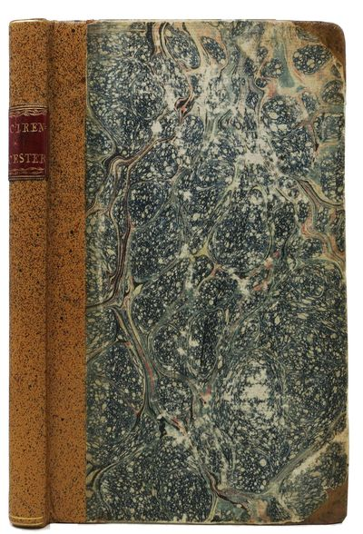 Cirencester: Printed and Sold by S. Rudder, 1780. 1st Edition. Period speckled tan half-calf binding...