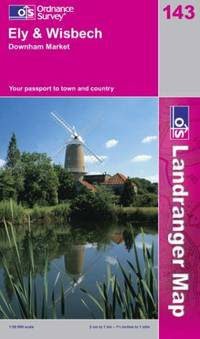 image of Ely and Wisbech: Market Deeping and Chatteris (Landranger Maps)