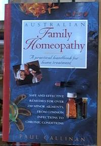 image of Australian Family Homeopathy; A Practical Handbook for Home Treatment