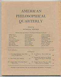 American Philosophical Quarterly: Volume 3, Number 3, July 1966