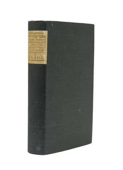 New York: Harper & Brothers, 1902. First American edition. , Pp. , , 3-342, , , . 1 vols. 8vo. Sage ...