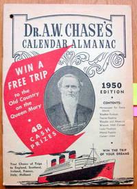 image of Dr. A.W. Chase's Calendar Almanac 1950
