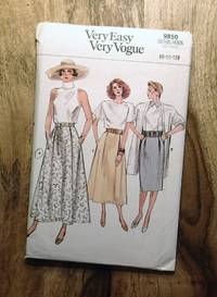 image of Vogue Sewing Pattern: 9844: VERY EASY, VERY VOGUE: Sizes: 8-10-12