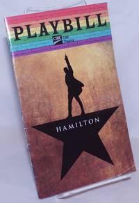image of Playbill: CIBC Theatre; Hamilton June 2019