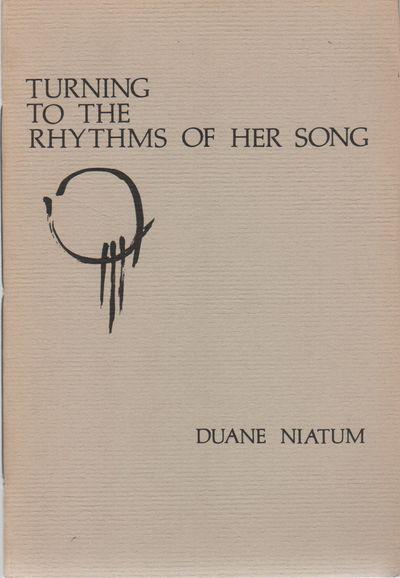 (Seattle, WA): (Jawbone Press), (1977). First Edition. Wraps. Near fine. 8vo. Stringbound wraps. Nea...
