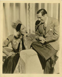 Angel (Original double weight photograph of Ernst Lubitsch and Marlene Dietrich on the set of the 1937 film)