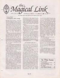 The Magical Link vol 1 n° 10 to vol 4 n° 2 ( 11 n° )