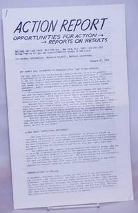 image of NGTF Action Report: opportunities for action/reports on results, January 31, 1975: H.R. 166