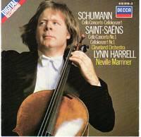 image of Lynn Harrell Performs Schumann and Saint-Saens (#1) Cello Concertos [COMPACT DISC]