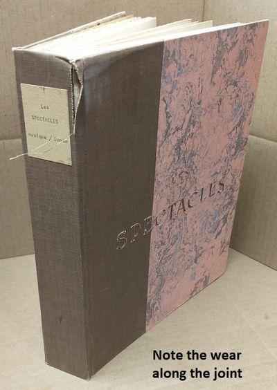France: Aux Editions Du Cygne, 1932. (unstated edition). Quarto. Good- with no dust jacket. Half-clo...