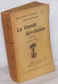 image of La Grande Révolution, 1789-1793.  Troisième Édition