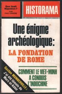 image of Une énigme archéologique : la fondation de Rome (revue historama n° 290)