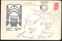 1981 Paul Keres Memorial Chess Tournament,Tallinn Commemorative Envelop