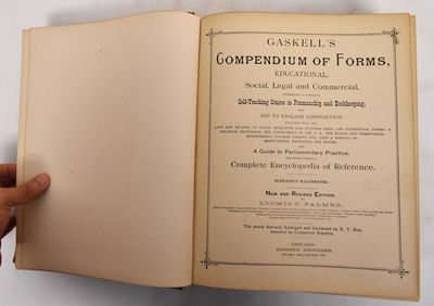 Chicago: Donohue, Henneberry & Co, 1897. New and revised edition. Hardcover. VG, case worn at edges ...