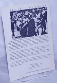 image of Fellow Workers [handbill]