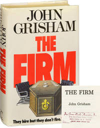 The Firm (First UK Edition, file copy from the author's literary agency)
