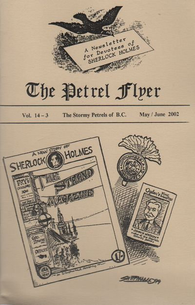 (Vancouver, BC): (The Petrel Flyer), 2002. First Edition. Wraps. Near fine. 8vo. Saddle-stapled wrap...