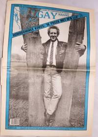 De Gay Krant: het grootste homo- en lesbienneblad in europa: nr. 130 - Zaterdag 6 Mei 1989: Homodominee Kobus: 'ik preek met m'n lijf'