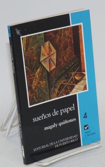 San Juan, PR: Editorial de la Universidad de Puerto Rico, 1996. Paperback. 126p., text in Spanish, v...