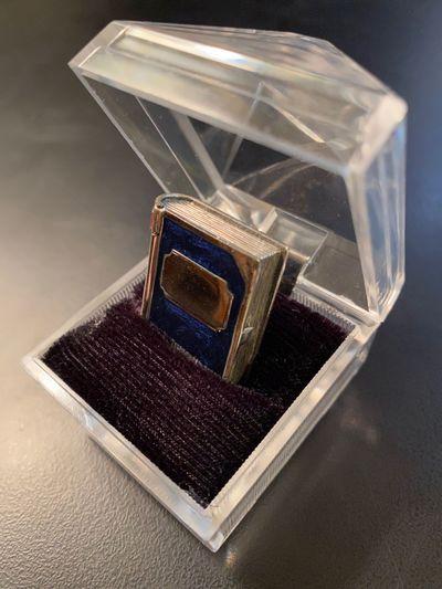 Arezzo, Italy: Sacchetti, n.d.. Near Fine. Miniature silver