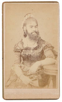 [Carte de visite (CDV) of Bearded Lady Annie Jones]