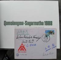Qomolangma-Sagarmatha 1988  -- WITH Team-signed Commemorative Cover -- First North-South double-traverse of Everest -- Only 200 copies produced
