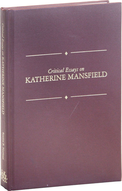 New York: G.K. Hall & Co, 1993. First Edition. Hardcover. Octavo. Cloth boards titled in gilt on fro...