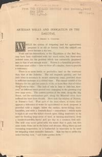 Artesian Wells and Irrigation in the Dakotas