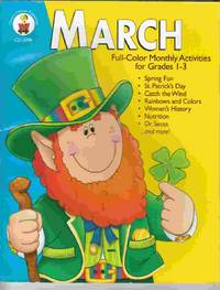 March: Full-Color Monthly Activities for Grades 1-3