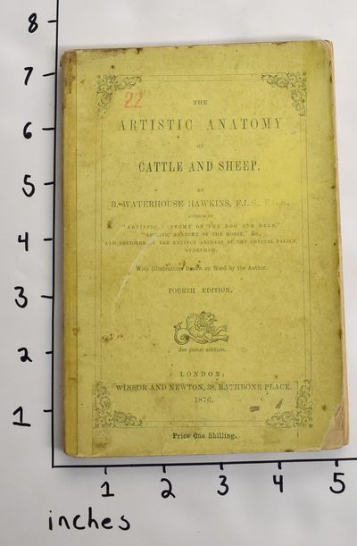 London: Winsor and Newton, 1876. Fourth Edition. Paperback. Poor. Covers heavily foxed, soiled, and ...
