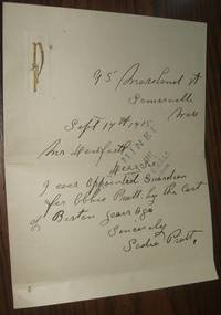 image of Correspondence Probate Court