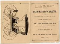 Trade Catalog: FINE ROAD WAGONS,